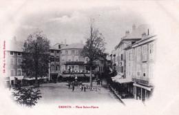 05 - Hautes Alpes - EMBRUN - Place Saint Pierre - Carte Precurseur - Embrun
