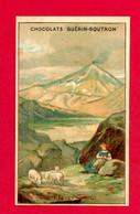 Chocolat Guérin Boutron, Rare Chromo Lith. Courbe Rouzet, Volcan Hekla, L'Heclat, Islande, Volcanologie - Guerin Boutron
