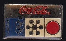 71222- Pin's.Coca-cola.Jeux Olympiques. - Coca-Cola