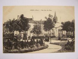 CREIL 26-9-14  Un Coin Du Parc  Editeur Vandenhove - Creil
