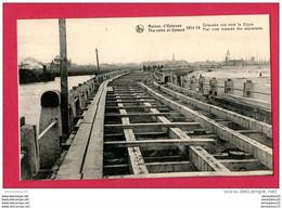 CPA (Ref A258) Ruines D'OSTENDE (BELGIQUE)  1914-1918  Estacade Vue Vers La Digue - Other