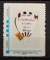 76 - Canteleu 40è Anniversaire Du Club E Canteleu (ballon Dirigeable) 2008 - Personalized Stamps (MonTimbraMoi)