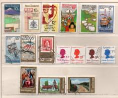 Neuseeland 1978 Siehe Bild/Beschreibung 16 Marken Gestempelt; New Zealand Used - Gebraucht