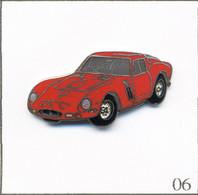 Pin's Automobile - Ferrari / Modèle 250 GTO (1966-64). Estampillé Démons Et Merveilles. EGF. T808-06 - Ferrari