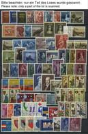 LOTS **,Brief,o , Interessanter Restposten Liechtenstein Von 1945-76 Mit 120 Fast Nur Verschiedenen Belegen, Prachterhal - Sammlungen