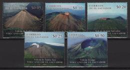 Salvador (2019) - Set - /  Volcanos - Volcanes - Vulcani