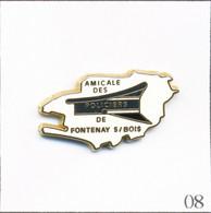 Pin's Police / Amicale Des Policiers De Fontenay Sous Bois (94) - Fond Blanc. Est. LB Création. Zamac. T809-08 - Polizia