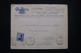 ESPAGNE - Enveloppe Commerciale De Madrid Pour La France En 1930 - L 99116 - Brieven En Documenten