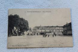 Cpa 1915, Sainte Menehould, Place D'Austerlitz, Marne 51 - Sainte-Menehould
