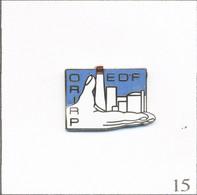 Pin's EDF-GDF / EDF ORI (Organisation Régionale D'Intervention) RP (Radio Protection). EGF. T809-15 - EDF GDF
