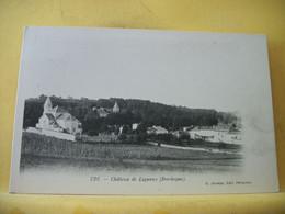 24 1935 CPA - 24 CHATEAU DE LIGUEUX - EDITEUR O. DOMEGE N° 732. - Otros Municipios