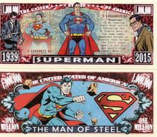 USA 1 Million Dollar Novelty Banknote 'Superman' (DC Comics) - NEW - UNC & CRISP - Other - America