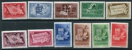 HUNGARY 1948 Revolution Centenary MNH / **.  Michel 1000-10 - Nuevos