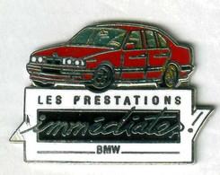 Pin's Voiture Automobile BMW (signé Démons Et Merveilles) - BMW