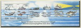 DÄNEMARK GRÖNLAND / MiNr. Block 24 /100 Jahre Internationaler Rat Für Meeresforschung (ICES) / Postfrisch / ** / MNH - Boten