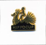 """Pin's Nautisme / """"Hippocup"""" Régate Médecins (Internes & Chefs Clinique) Depuis 1995. Est. DBE Korus. Zamac. T810-01 - Barche"""