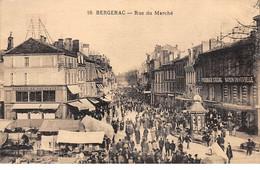 24 . N°105881 . Bergerac .rue Du Marche .pharmacie Cussac . - Bergerac