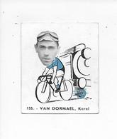 Van Dormael Karel -Baanreuzen-Géants De La Route-nr 155-Belgian Chewing Gum Cy S.A.-Antwerp - Cycling