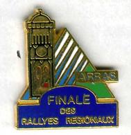Pin's Voiture Automobile Finale Rallye Régional Arras Pas-de-Calais Beffroi (numéroté N° 194) - Rallye