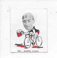 Acou Lucien- -Baanreuzen-Géants De La Route-nr 152-Belgian Chewing Gum Cy S.A.-Antwerp - Cycling
