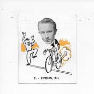 Evens Rik-- -Baanreuzen-Géants De La Route-nr 9-Belgian Chewing Gum Cy S.A.-Antwerp - Cycling