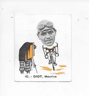 Diot Maurice- -Baanreuzen-Géants De La Route-nr 43-Belgian Chewing Gum Cy S.A.-Antwerp - Cycling