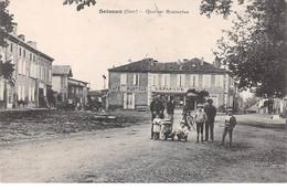 32 . N°106006 . Seissan .quartier Montauban .cafe Puntous .enfants . - Other Municipalities