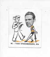 Van Steenbergen Rik -Baanreuzen-Géants De La Route-nr 40-Belgian Chewing Gum Cy S.A.-Antwerp - Cycling