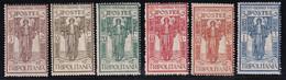 Tripolitania Pro Istituto 1926 Serie Completa Sass.33/38 MNH** Cv 20 - Tripolitaine