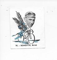 Schotte Briek-Baanreuzen-Géants De La Route-nr 75-Belgian Chewing Gum Cy S.A.-Antwerp - Cycling