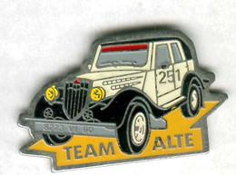 Pin's Voiture Automobile Rallye Paris Dakar Team Alte Mitsubishi PX 33 - Mitsubishi