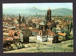 SELESTAT (67 Bas-Rhin) L'Entrée De La Ville Et Vue Aérienne ( Editions Sofer N° A67.583.1005) - Selestat