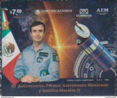 MEXICO, 2020, MNH, SPACE, ASTRONAUTS, FIRST MEXICAN ASTRONAUT,1v - Amérique Du Nord