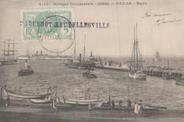 SENEGAL DAKAR RADE PAQUEBOT BRUXELLESVILLE - Senegal