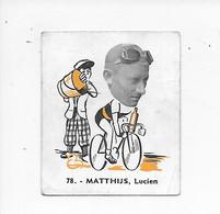 Matthijs Lucien -Baanreuzen-Géants De La Route-nr 78-Belgian Chewing Gum Cy S.A.-Antwerp - Cycling