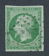EC-121: FRANCE: Lot Avec N°12 Obl - 1853-1860 Napoléon III.