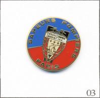 Pin's Pompier - SP De Paris (75). Estampillé AMC. Zamac. T811-03 - Pompieri