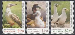 2020 Cocos (Keeling) Islands Booby Birds Complete Set Of 3 MNH @ BELOW FACE VALUE - Isole Cocos (Keeling)