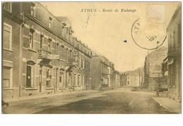 BELGIQUE.n°31080.ATHUS.ROUTE DE RODANGE.RARE - Aubange