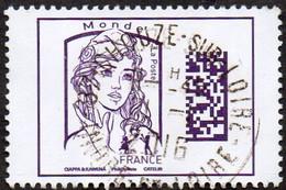 France Oblitération Cachet à Date N° 5020 - Marianne De Ciappa Et Kawena Datamatrix Monde - Gebruikt