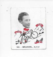 Bruneel Achiel-Baanreuzen-Géants De La Route-nr 163-Belgian Chewing Gum Cy S.A.-Antwerp - Cycling