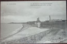 50 Manche CPA St Saint Vaast La Hougue La Plage - Saint Vaast La Hougue