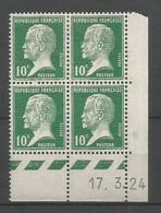 Coins Datés De France Neuf *  N 170  Année 1924  Charnière En Haut - ....-1929