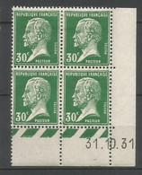 Coins Datés De France Neuf *  N 174  Année 1931  Charnière En Haut - ....-1929