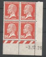 Coins Datés De France Neuf *  N 178  Année 1926  Charnière En Haut - ....-1929