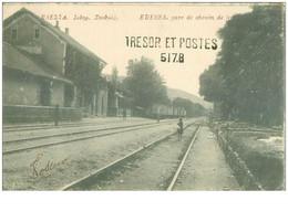 Grece. N° 42906 . Edessa.gare De Chemin De Fer.obliteration Tresor Et Postes 517.b - Greece