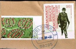Bund 2021,Michel# 3581 + 3589 O  Deutschland Von Oben: Siedlung In Lübeck/ Friedrich Ebert - Used Stamps