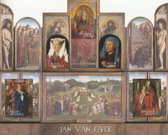 2020 Belgium JAN VAN EYEK Art Painting Foldable Sheet MNH @ BELOW FACE VALUE - Religione