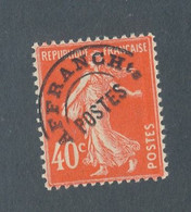 FRANCE - PREOBLITERE N° 64 NEUF** SANS CHARNIERE - COTE : 45€ - 1922/47 - 1893-1947