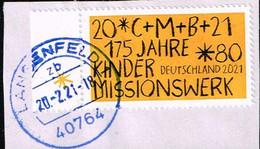 Bund 2021,Michel# 3582 O  175 Jahre Kinderhilfswerk - Used Stamps